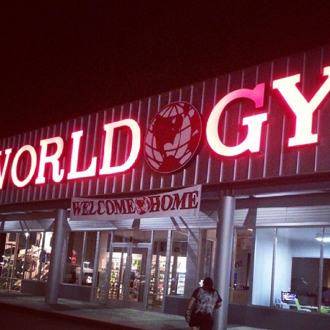 Grandopening Worldgym Checkingthehypeout