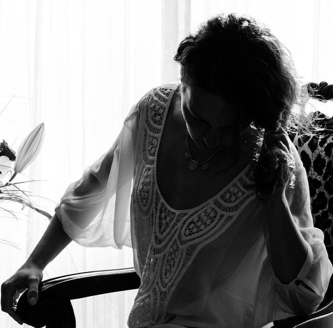 Feminity Sensuality femme black&white