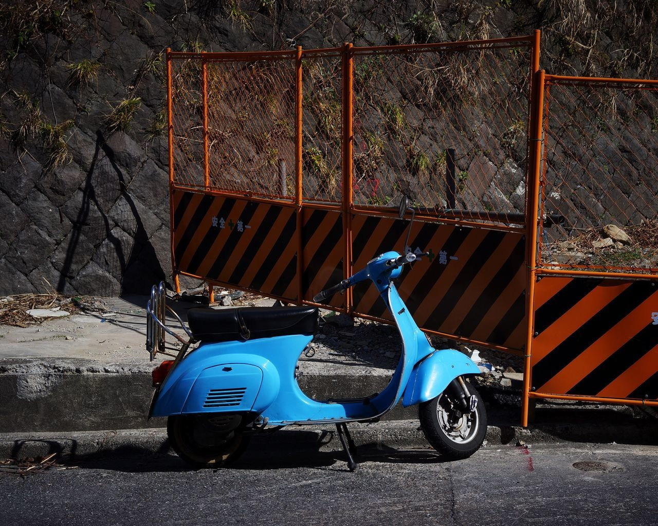 Scooter Fence Transportation