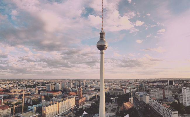 Panoramic Berlin | Unlimited Berlin . ShotOnIphone IPhoneography Shotoniphone6splus Panorama Berlin TV Tower Fernsehturm Berlin Deutschland Germany Travel Wanderlust EyeEm
