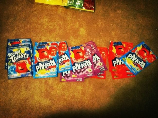 look at all this kool-aid.