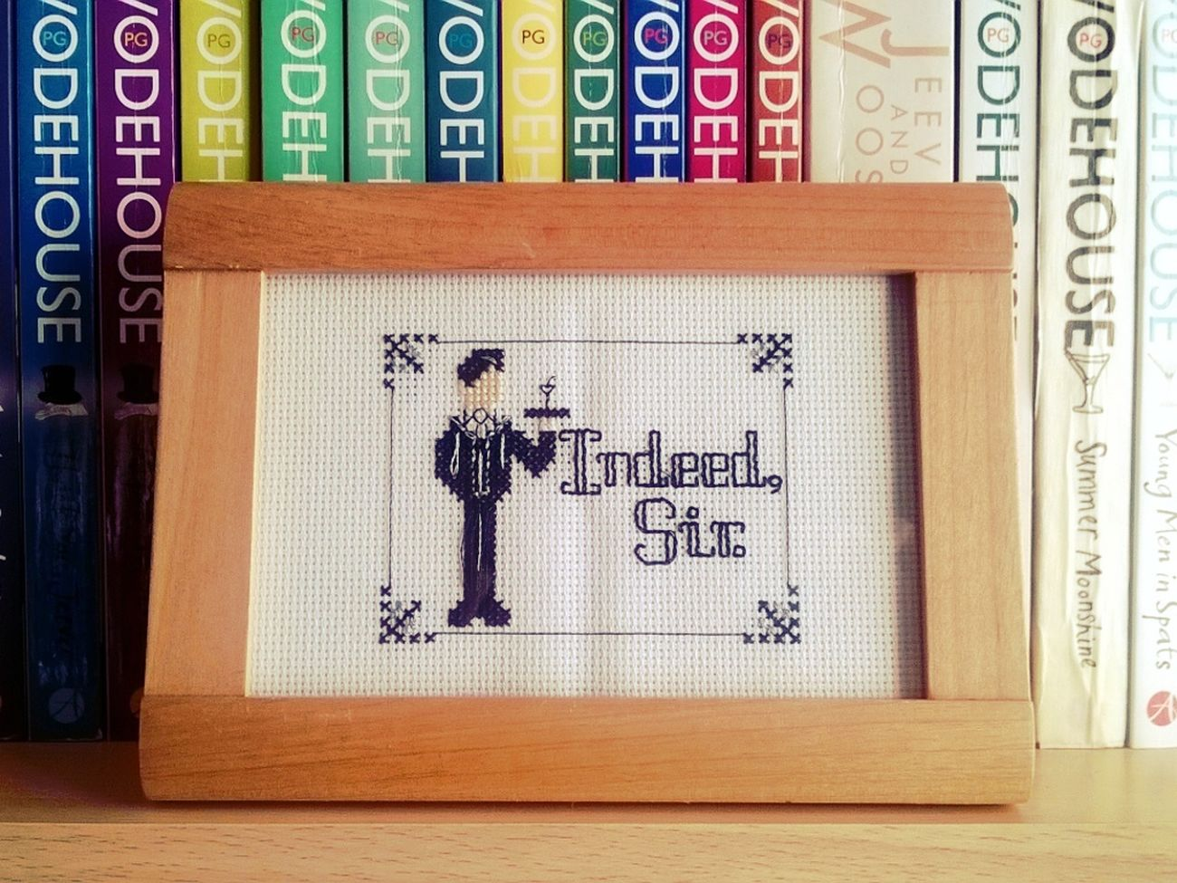 Cross Stitch Jeeves Jeeves And Wooster Wodehouse