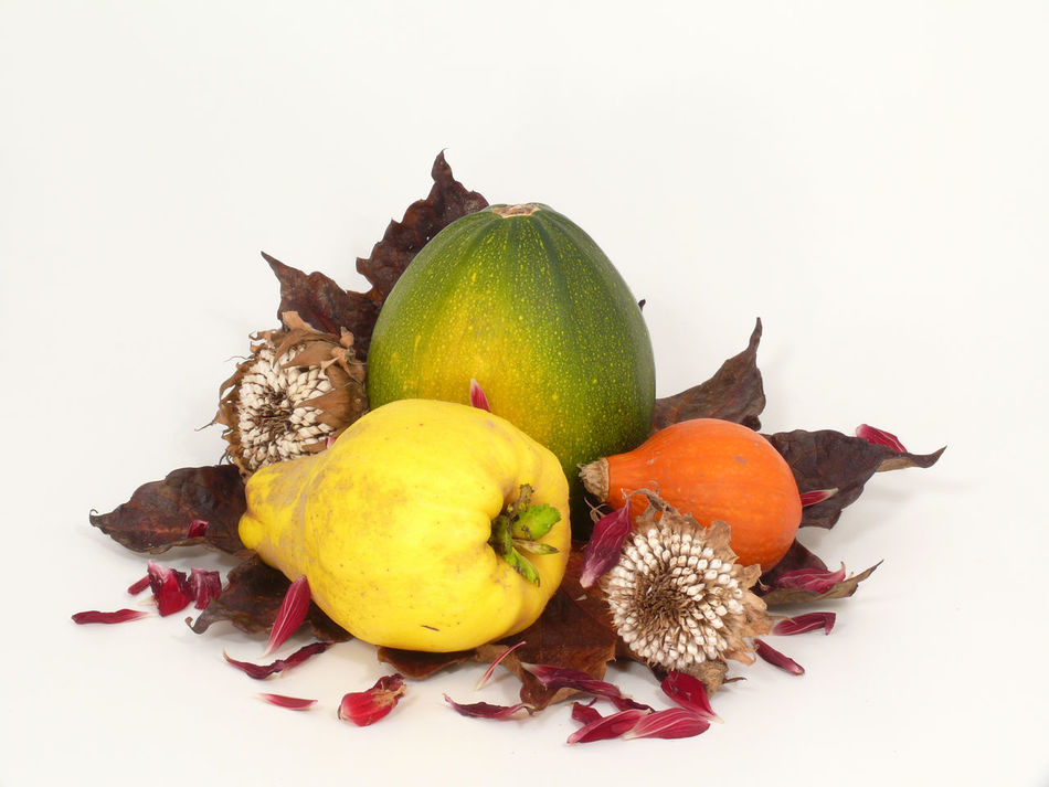Archival Autumn Colours Food Food And Drink Freshness Fruit Healthy Eating No People Pumkins Pumpkins Seeds Seeds Flower Still Life Still Life Photography Studio Shot White Background