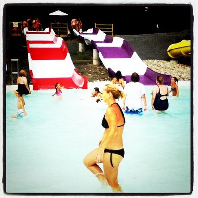 Water fun. Fast slides. #parcsafari #quebec Water Swimming Safari Park Quebec Splash Bikini Slides Parcsafari Hemingford