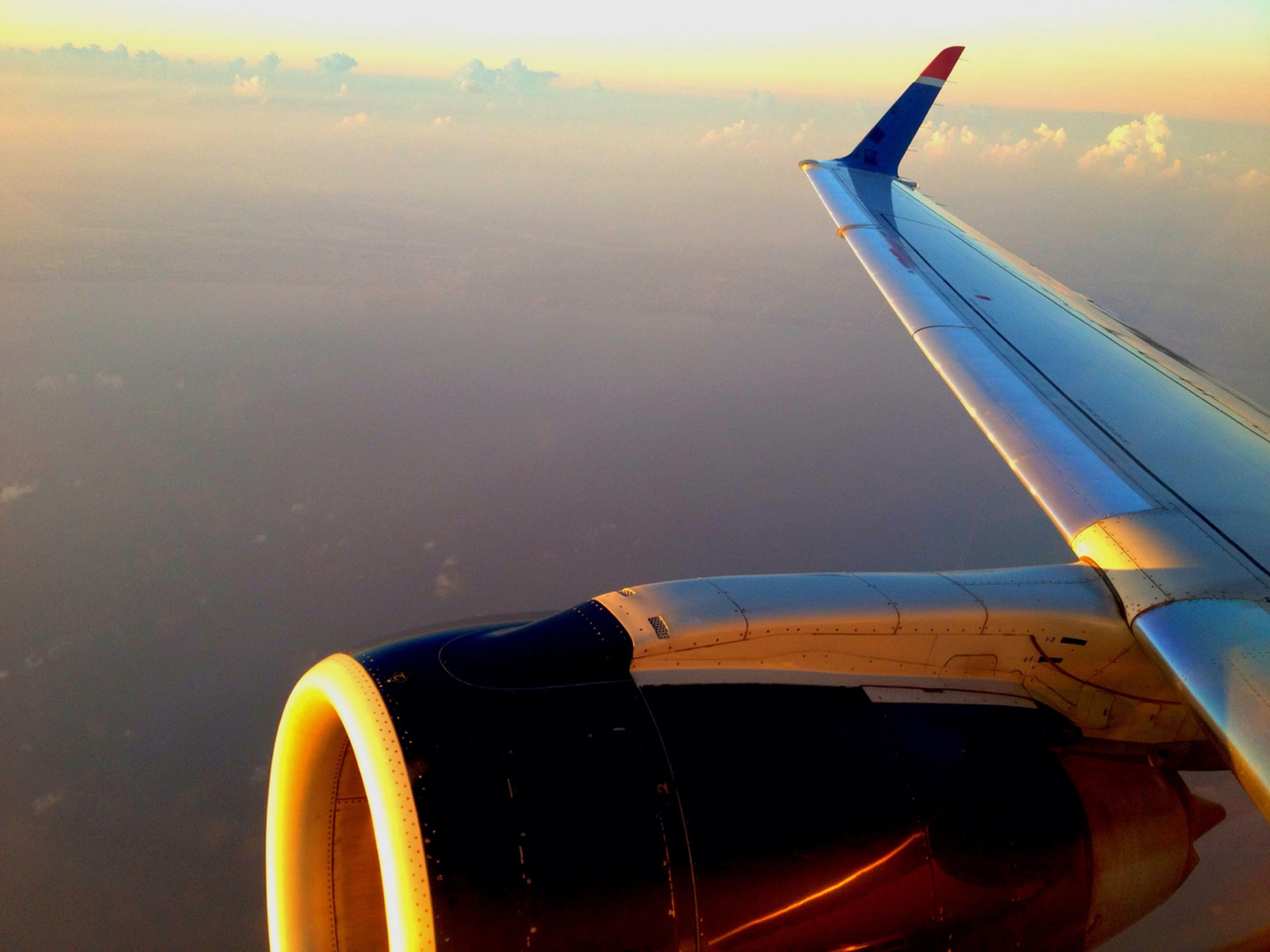 Sunrise over Louisiana