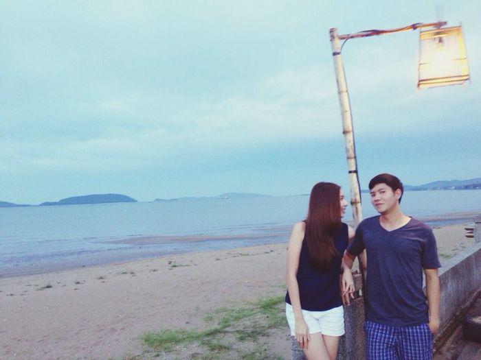 รักทะเลเวลามีเธอด้วย First Eyeem Photo