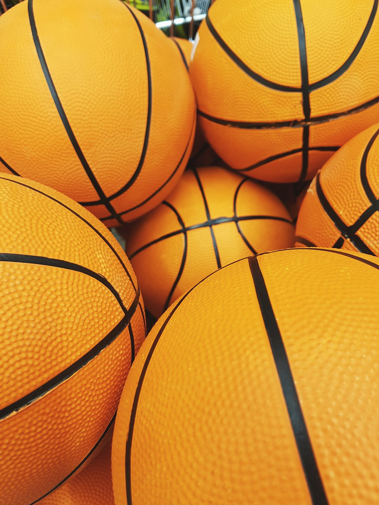 Orange Color Basketball - Sport Backgrounds Sport Close-up Large Group Of Objects Outdoors Court Sport Sports Training Sports Photography Balls Basketball Basketball Game Sports Day  Orange Basketball Court Playground