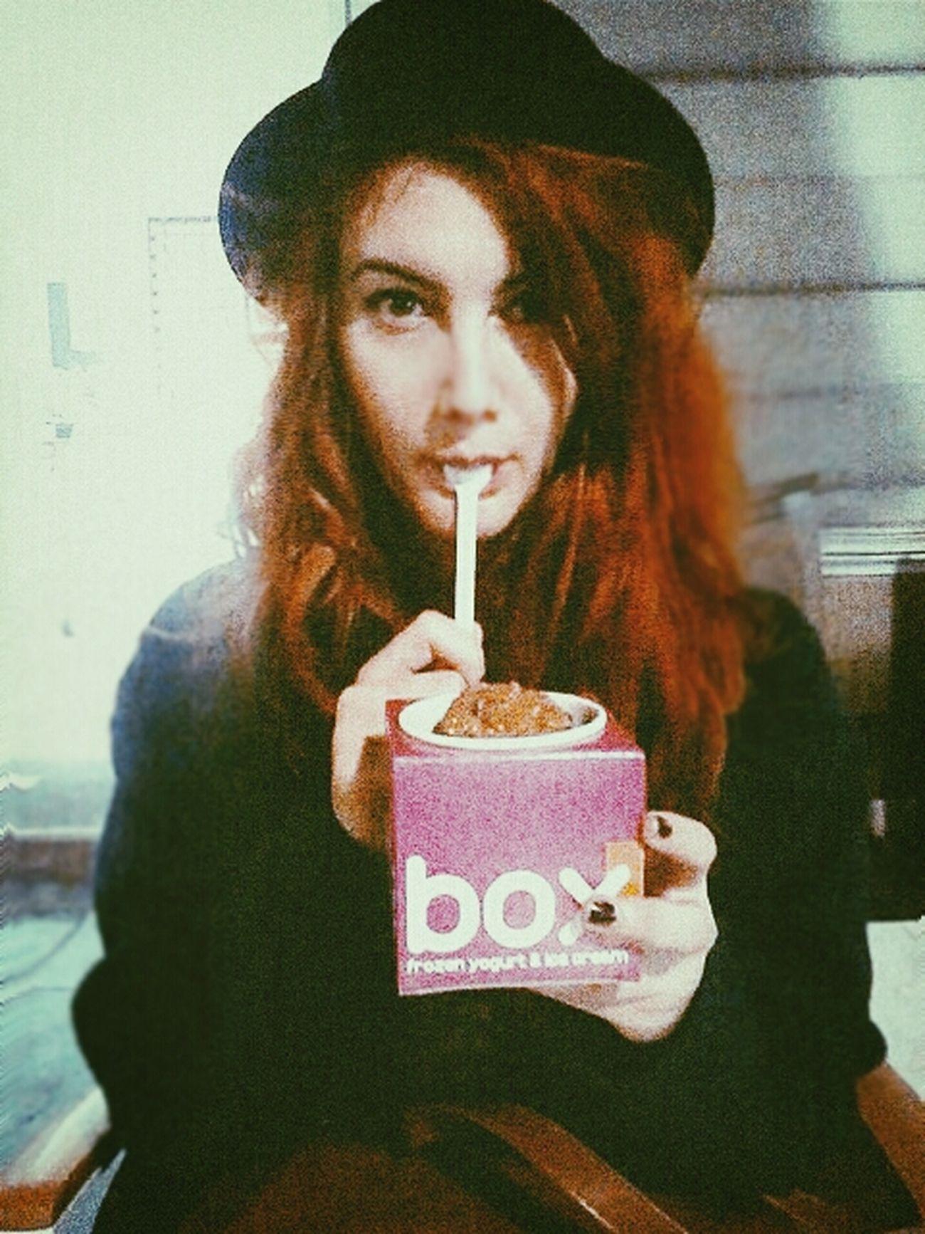 Ice Cream Redhead Omnomnom Selfportrait Anja debil.