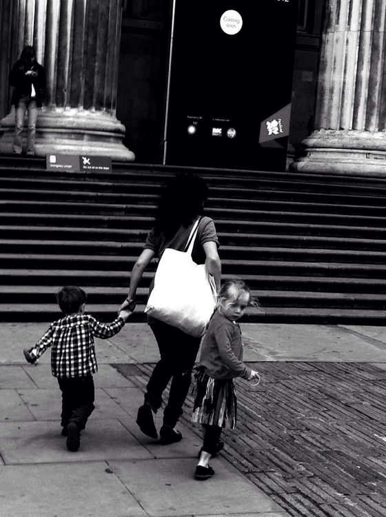 Street Life at British Museum by Jana msg