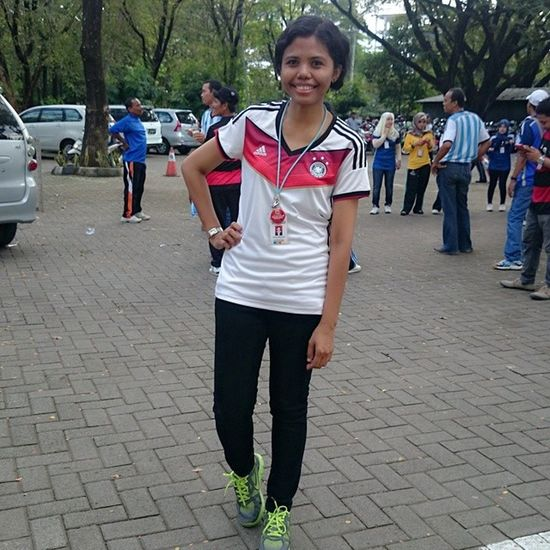 Me Indonesianwomen Worldcup Worldcup2014 Germany Favourite Jersey Exercise Aerobic