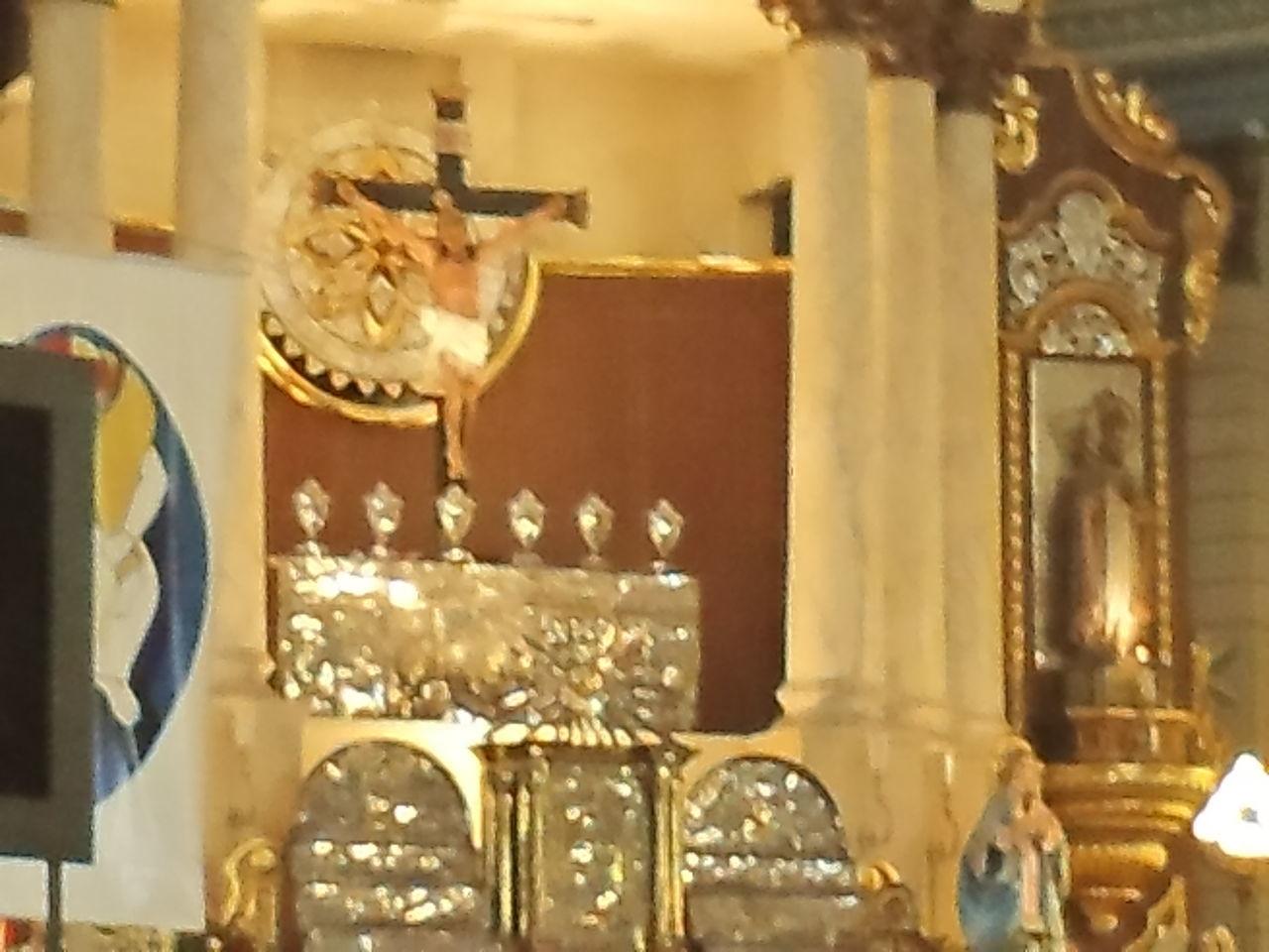 Mesmerizing Church Indoors Day Historical Church, Taal Church, Batangas, Holy Church Holy Cross Illuminated Indoor Church Indoors  No People