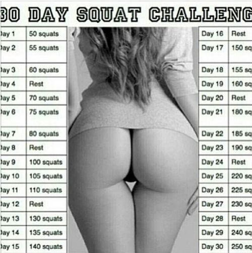 These Squats Tho