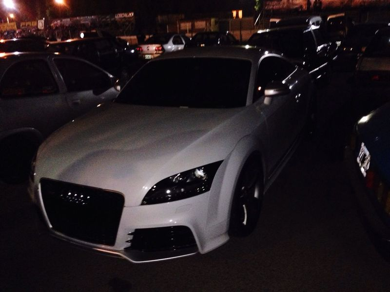 Car Transportation Land Vehicle Night No People Close-up Outdoors Audi Ttrs Rs Exotic Fast Miles Away Argentina