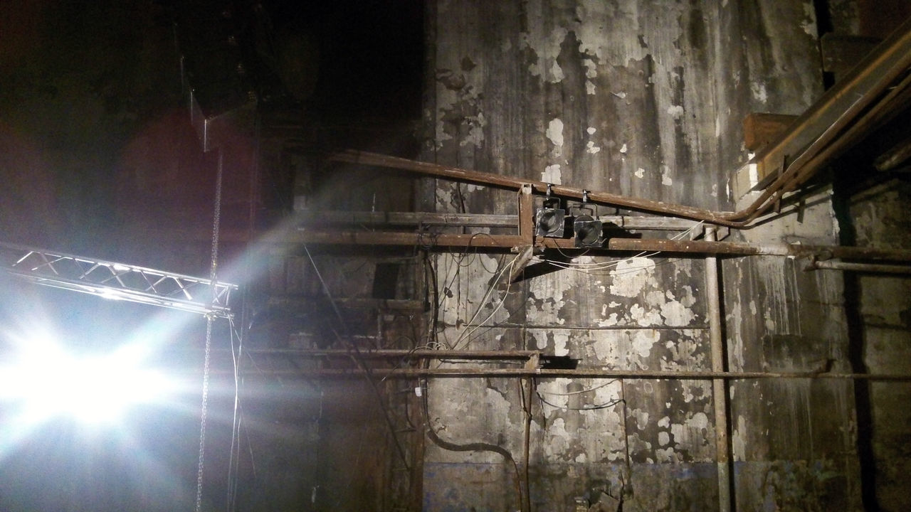 inside the old plant where Tarkowski filmed the 'Stalker' movie Abandoned Day Indoors  Industrial Low Angle View No People Rotten Places Tarkovski Live For The Story
