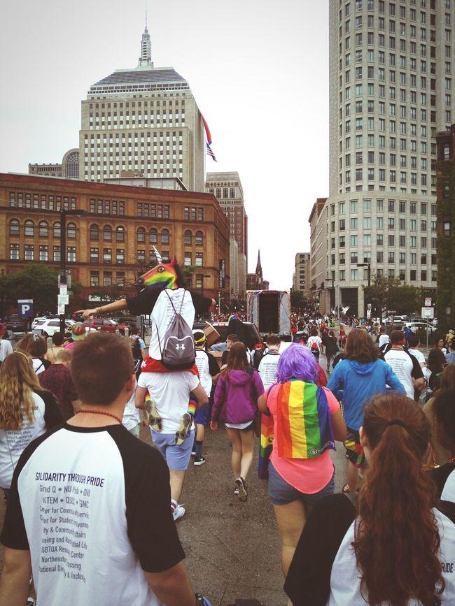 Happy pride! See you next year! Prideparade Boston NorthEastern NUpride