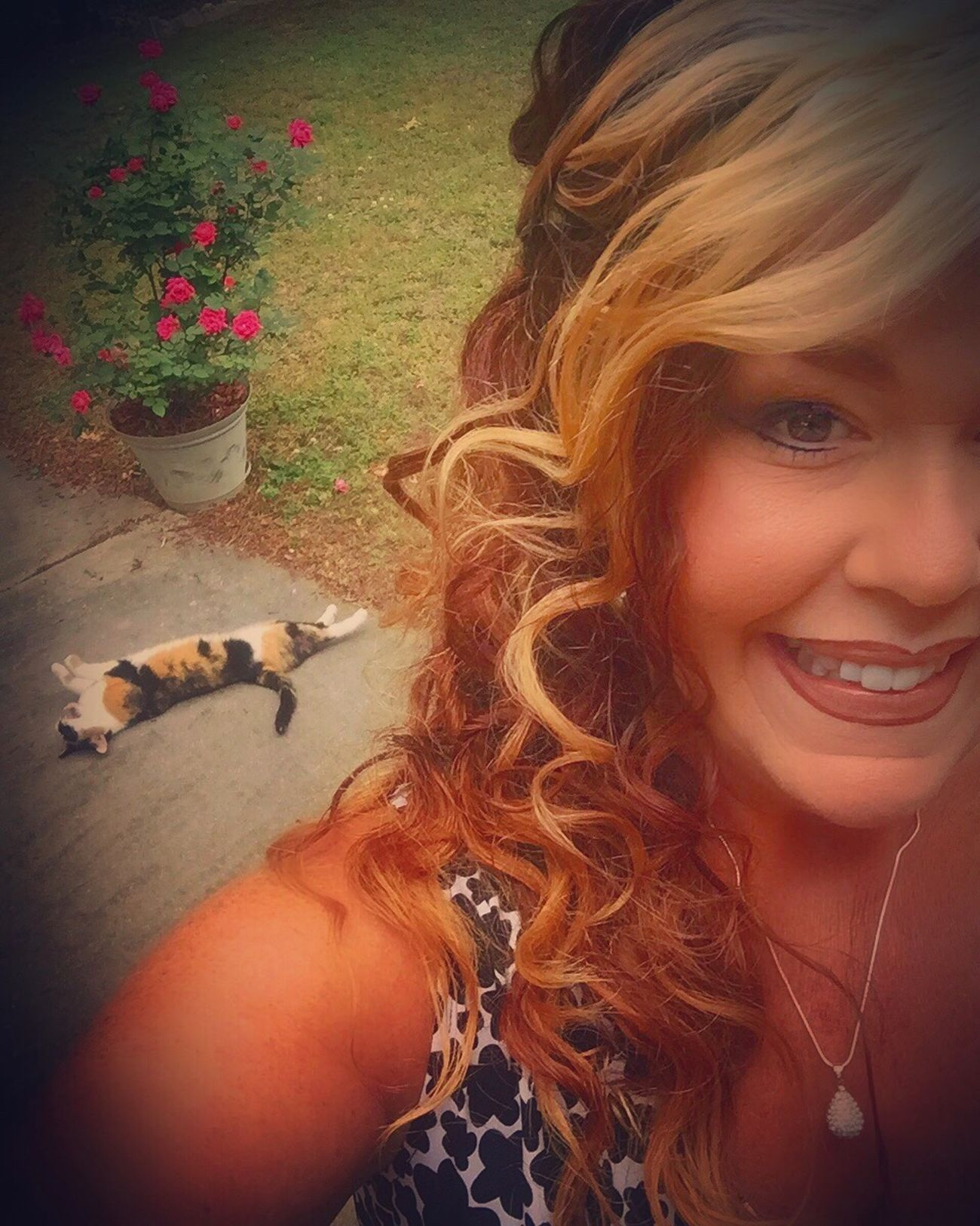 Photobomb Photobombed by my Cat Self Portrait Selfportrait Selfie ✌