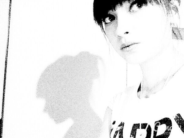 Blackandwhite Holidays Ulan-Ude My Face I Am Girl That's Me People Darkness And Light Shadow