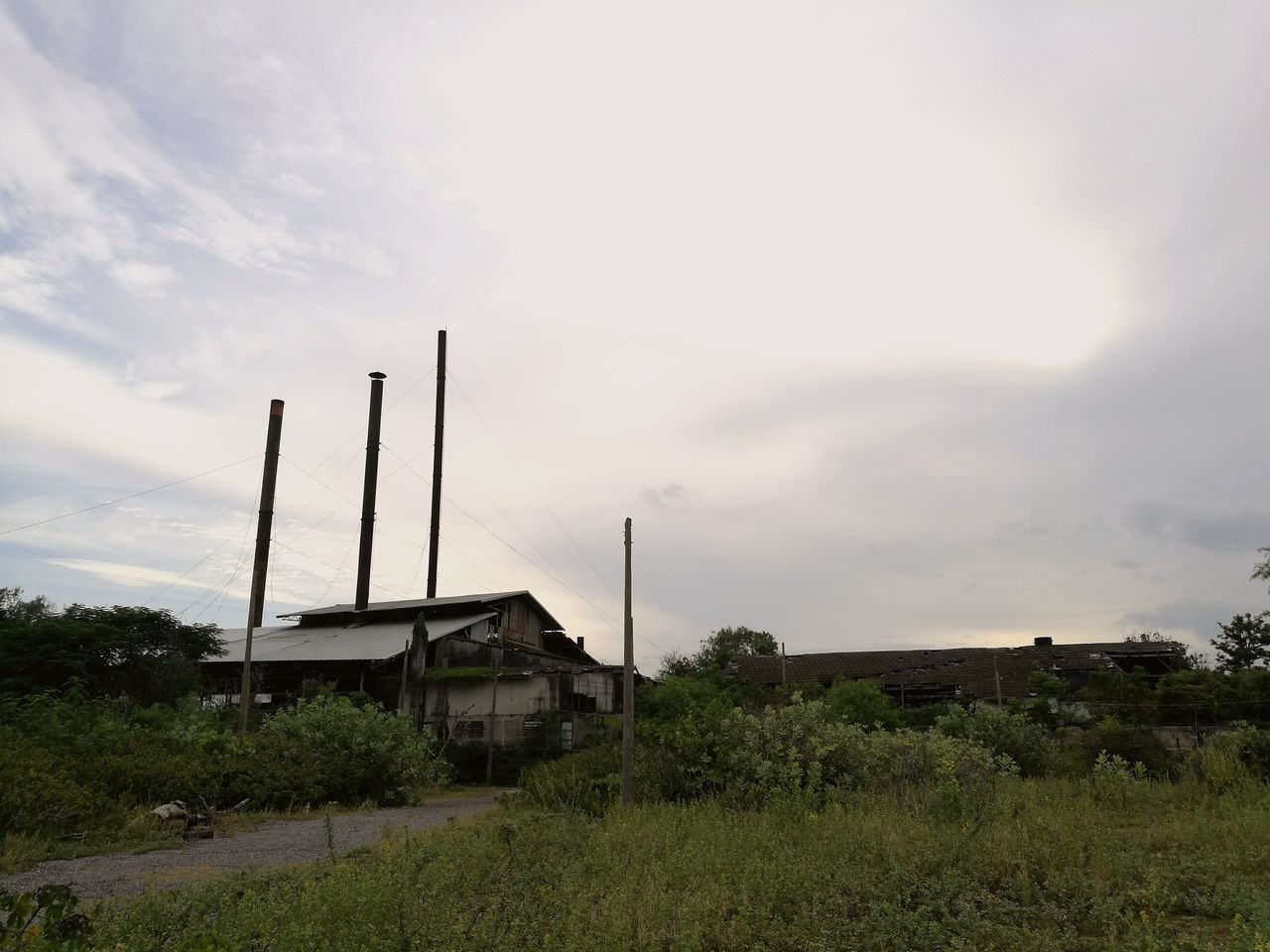 """""""The old factory"""" 8/10/2016 Thaïlande Thailand Thai Factory Building Factory Photo Factory No People Day Architecture Architecturephotography"""