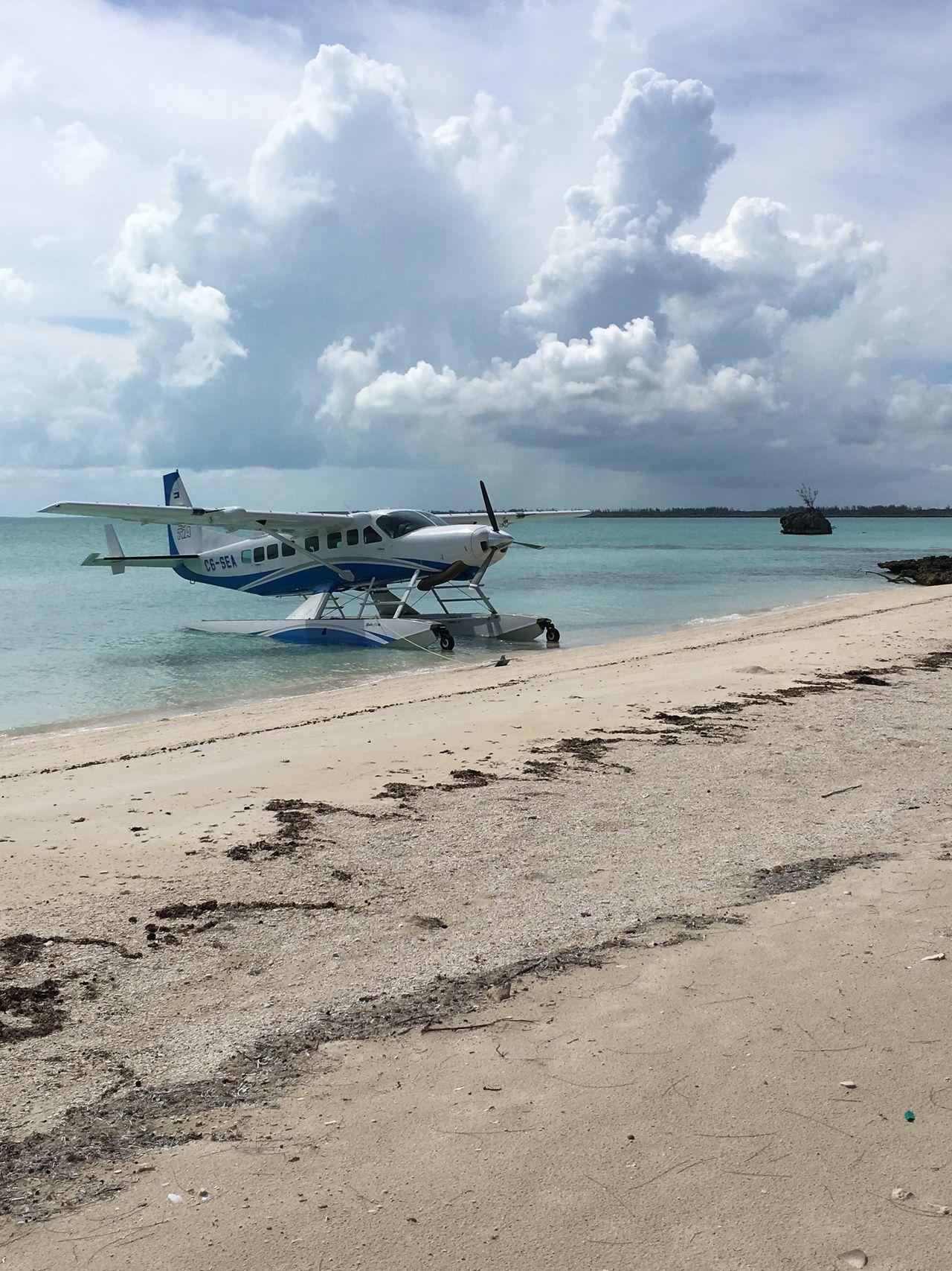 Seaplane at North Eleuthera,Bahamas 45201 Bahamas Travel Aviation Airplane Aircraft Beach Photography Beachphotography