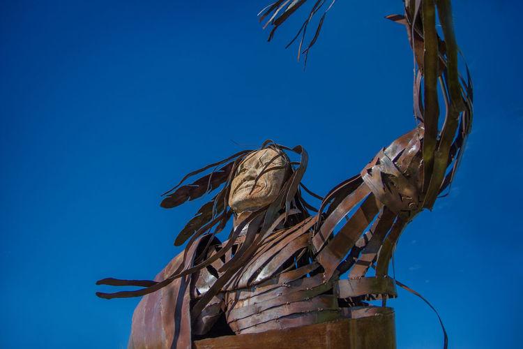Arizona Art Desert Eric Barnes Photography Native American Indian Sculpture Southwest  Strong