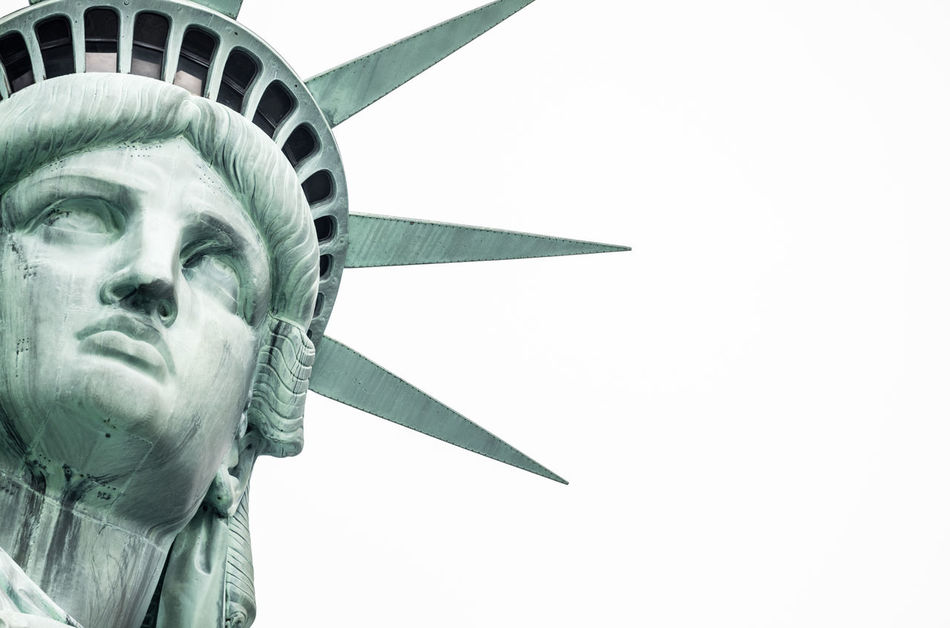 Beautiful stock photos of statue of liberty, Art And Craft, Capital Cities, City, Clear Sky