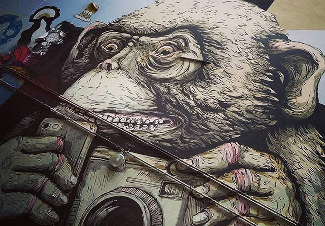 Turista Streetart Berlin Art Photography