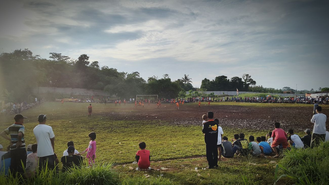 IG: @ahmrifki INDONESIA Depok First Eyeem Photo Soccer Football Bola Main Pitch Lapangan