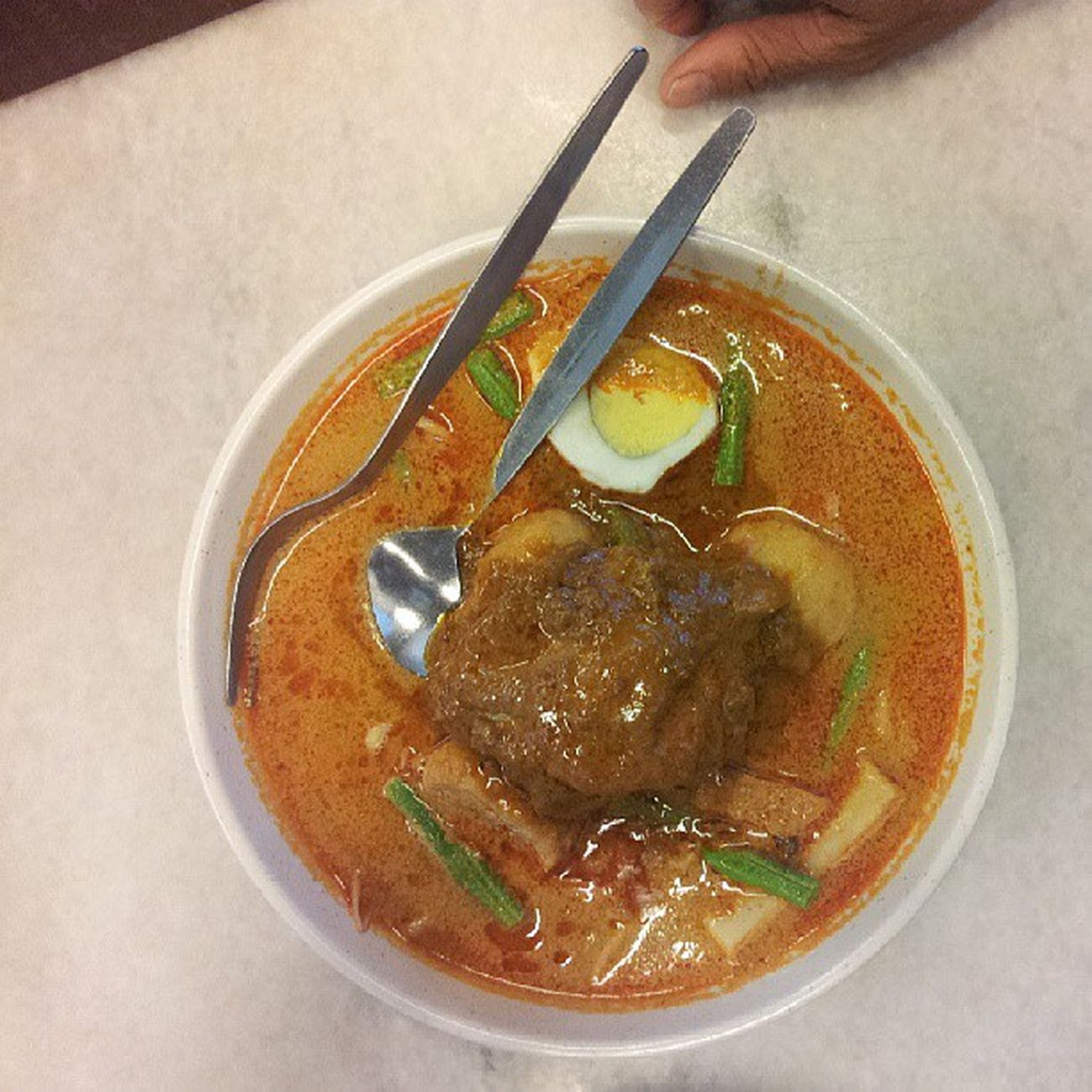 Kemaman Kopitiam Curry Mee Omg Rm9 Bigportion