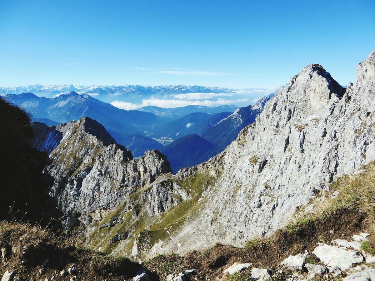 Fantastic view at Karwendel ❤ Karwendel Karwendelblick Alpen Bayern Tirol  Autumn Mountains