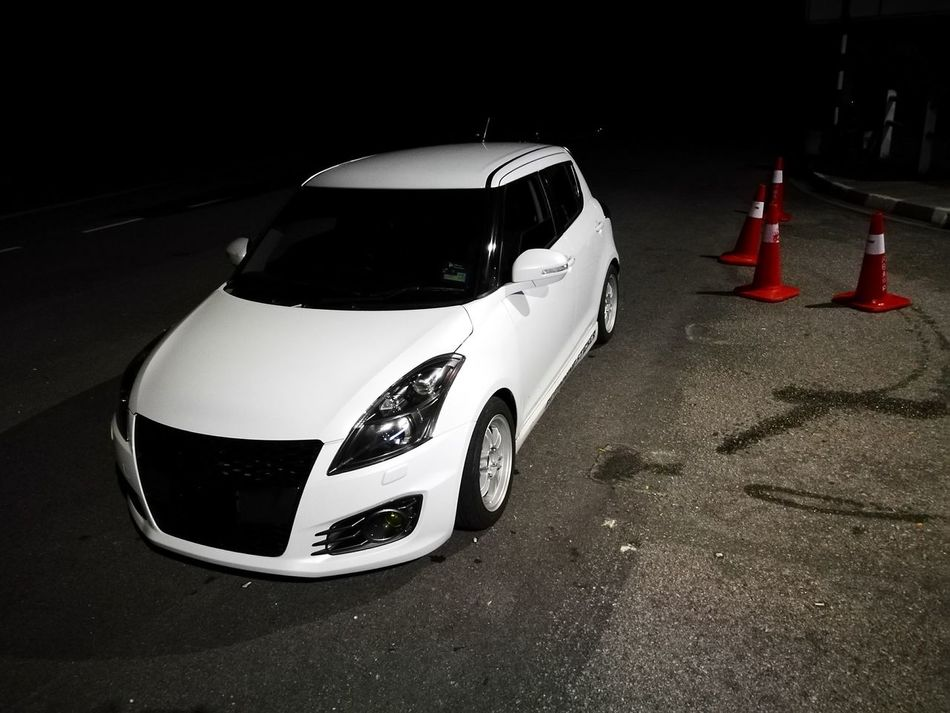 Touge Road Outdoors Suzuki Swift Sport HuaweiP9 Chillin' Malaysia Hello World Hanging Out Leicacamera Taking Photos Midnight
