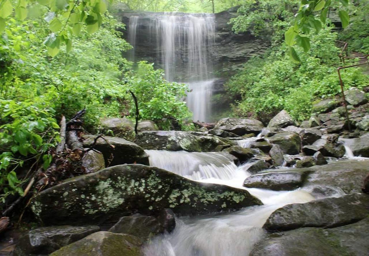 SO IL waterfalls Waterfall Rocky Bluff Nature First Eyeem Photo EyeEmNewHere