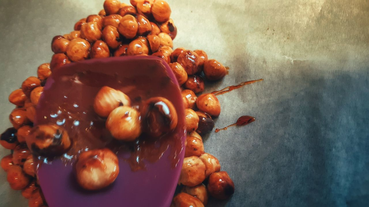 Caramelized Hazel Nuts From My Point Of View Focus On Background Nutella Time Abundance Preparation  Homemade Food Sweet Nutella ♥ Cooking At Home Nutella Hazelnut Sweets Preparing Food Nuts♥ Cooking Home Cooked