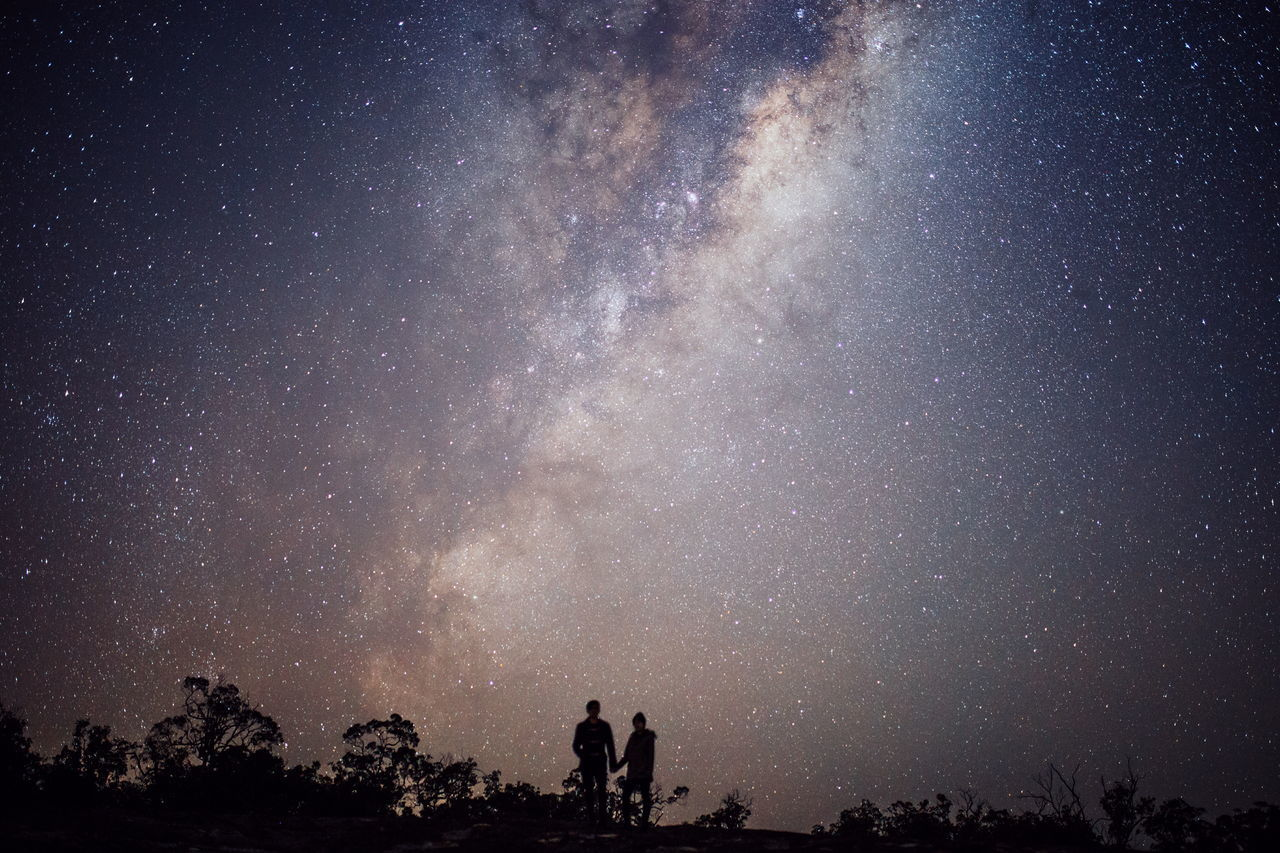 Beautiful stock photos of galaxy, Adult, Atmospheric Mood, Awe, Beauty In Nature