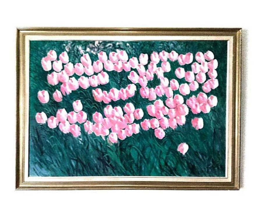 Best of grandma paintings.. Paint Family Paintings Painting Art Art Tulips Painted Tulips Family Art