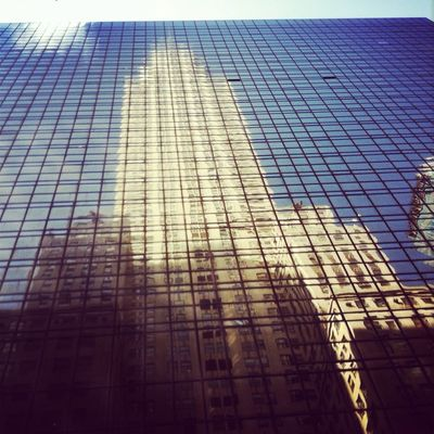 Reflection in New York City by Yarsu