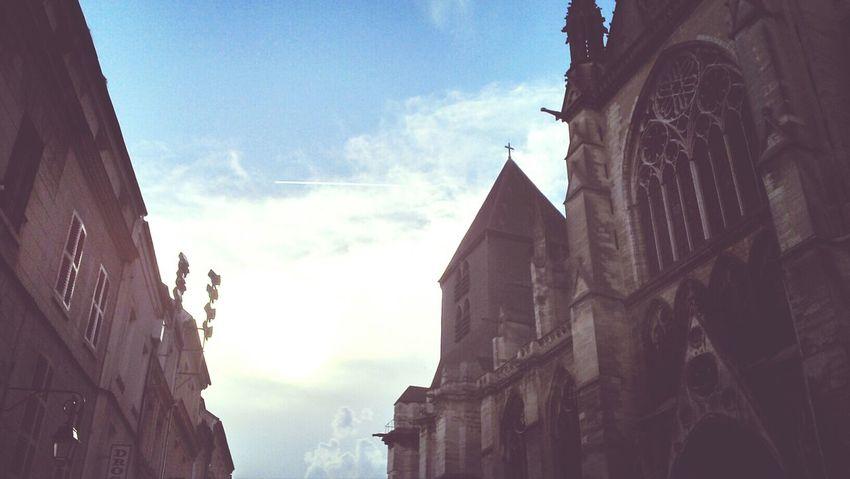 Meaux-town. Meaux Skycollection Church Cloud_collection