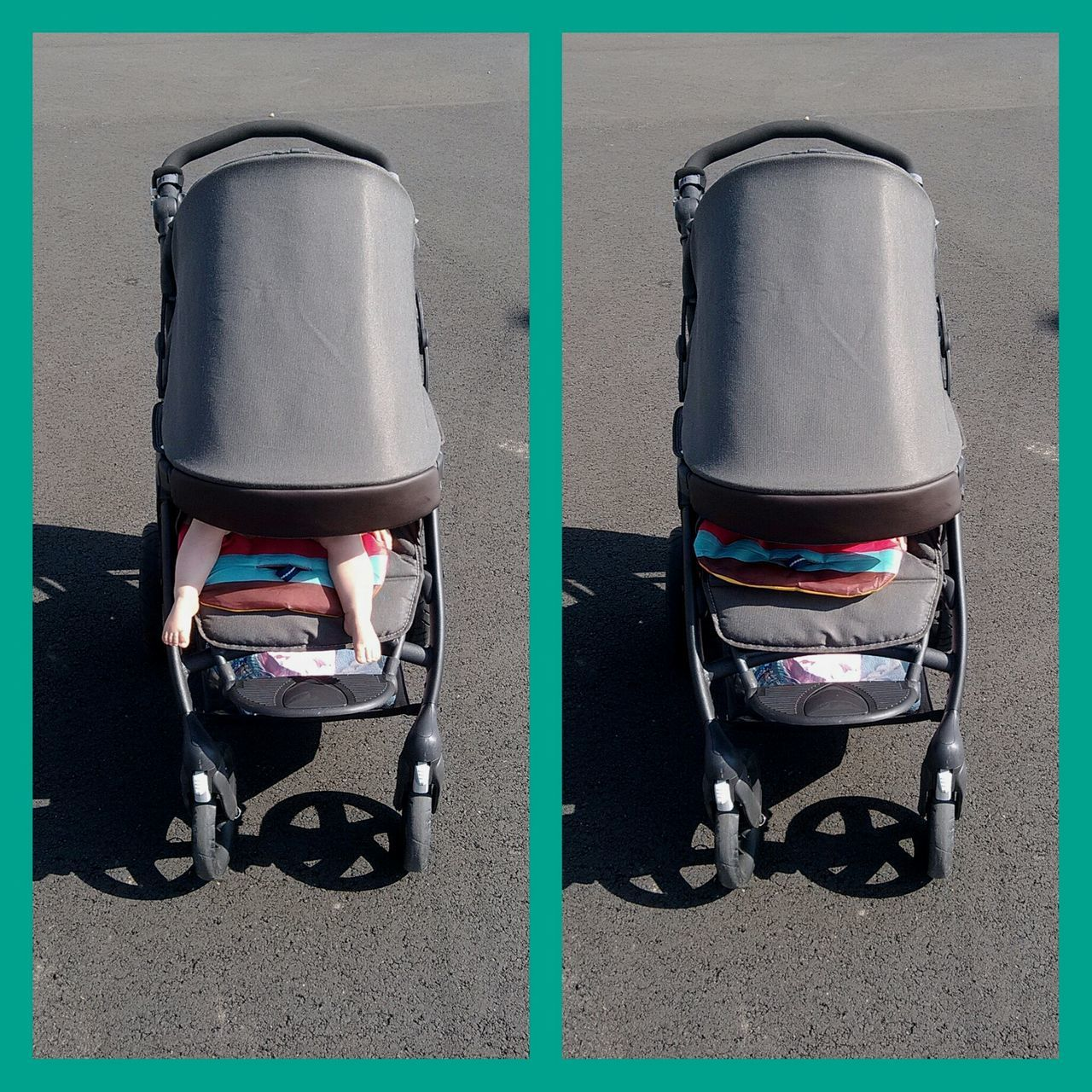 Strolling Stroller Pram Find The Difference Strolling On A Hot Day Summer Baby Feet Baby Find Me  Find The Baby
