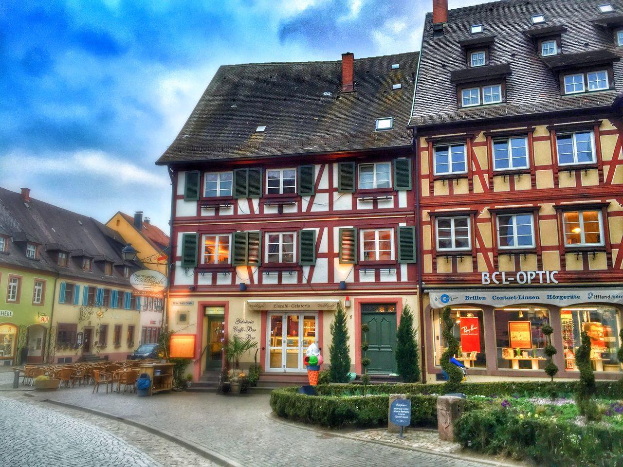 Fachwerkhäuser Fachwerk Gengenbach Nice City Black Forest Architecture
