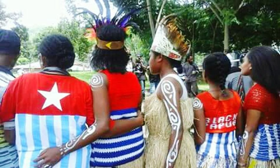 Patriotism West Papua Flag Papua Free Of Indonesia Colonial West Papua Want To Free Of Indonesia Colonial. West Papua Politic Of Freedom West Papua Culture West Papua Girl Uniform Of West Papua Tradition West Papua Tradition West Papua Women Tradition West Papua People Coulture