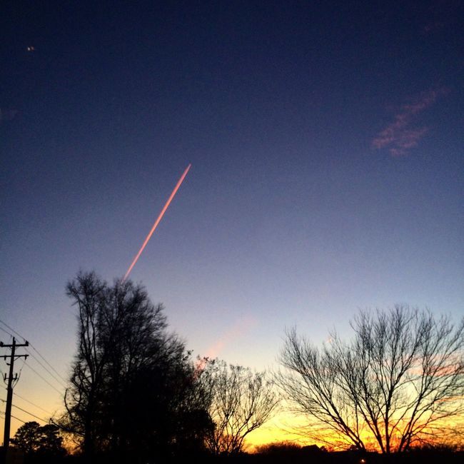 FabulousSunsets Showcase: February February2016 PinkContrails