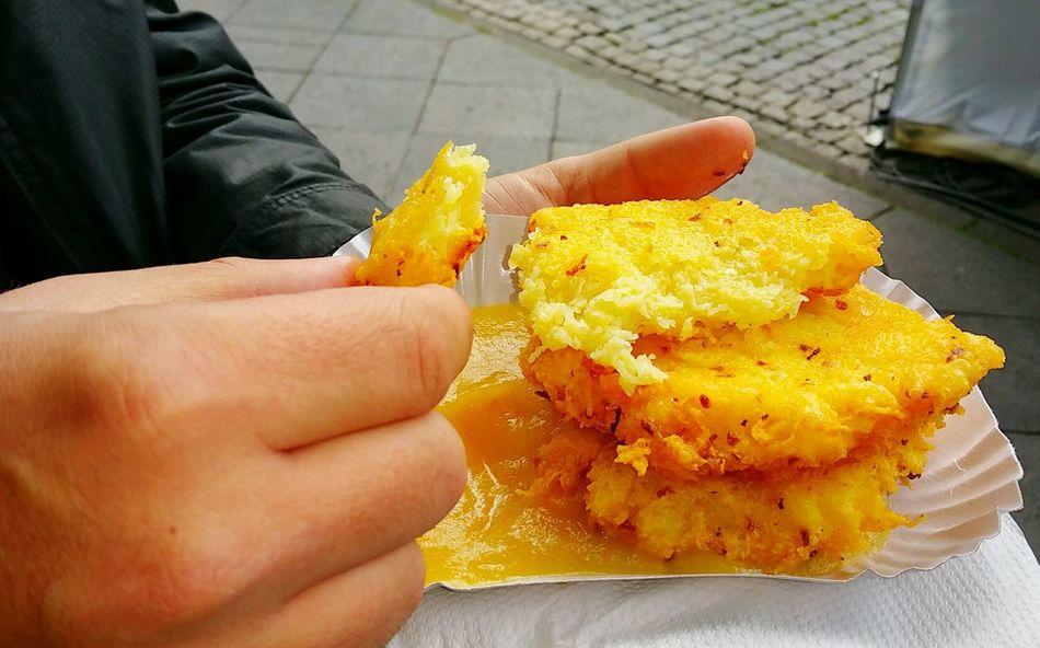 Food Fastfood Reibekuchen Fingerfood Kartoffelpuffer  German Germany German Food