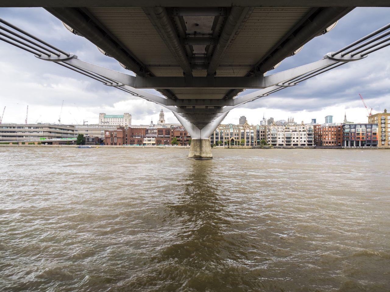 Underside of a Bridge In The Cityn]ty of London