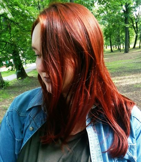 Red Hair Hi! Hello World Relaxing Fashion&love&beauty Sky Darklips Witch Beauty Witches Eyes Tumblrgirl