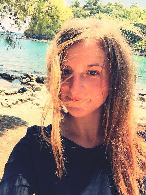 девушка КРАССАВИЦА Природа пляж море👻🌊 сонце☀