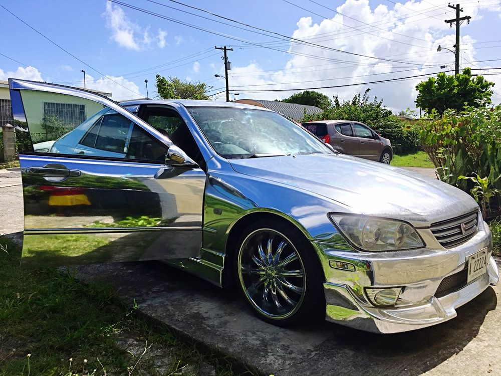 Chrome Car / Vinylwrap / Antigua