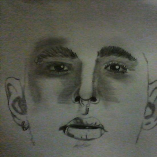 Мой новый рисунок мойрисунок иллюстрация рисунок биллкаулитц MyPicture Illustration Drawing Pencil Paper BillKaulitz