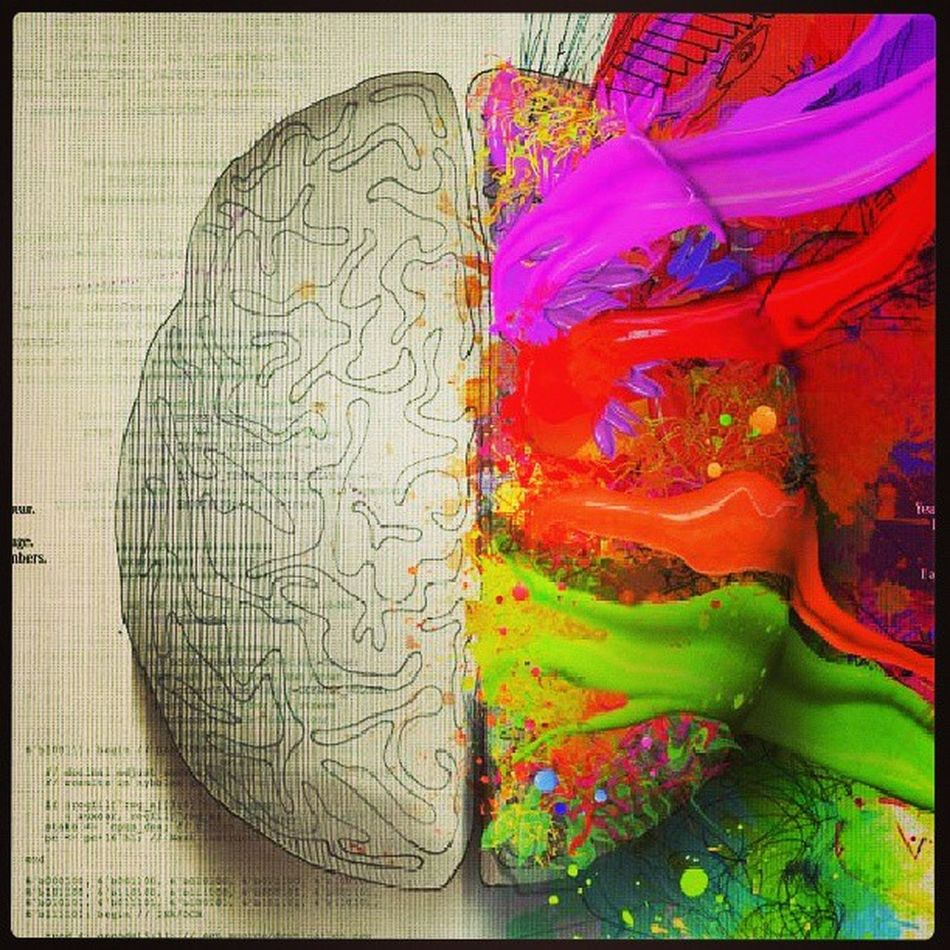 LEFT BRAIN: I am a scientist, a mathematician. I love the familiar. I categorized. I am accurate, linear, analytical. Strategic, practical, I am always in control. A master of words and language. Realistic, I calculate equations and play with numbers. Order, logic. I know exactly who I am. RIGHT BRAIN: I am creativity, a free spirit. I am passion. Yearning, sensuality. I am the sound of the roaring laughter. I am taste, the feeling of sand beneath bare feet. I am movement. I am vivid colour, the urge to paint on empty canvas. I am boundless imagination. Art, poetry. I sense. I feel. I am everything I wanted to be. LeftAndRightBrain IAmTheRightBrain IAmTheLeftBrain WhichBrainAreYou Psychology