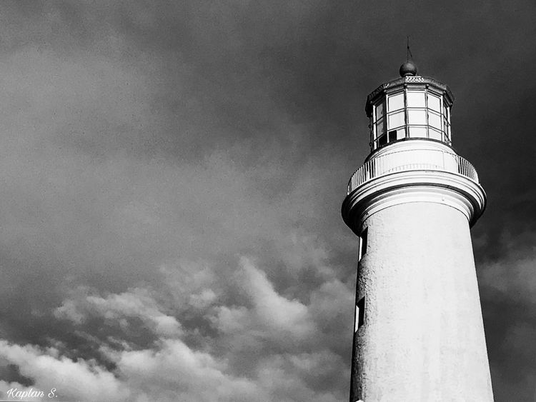 light from below BW Architecture Beach Black And White Black And White Collection  Black And White Photography Black And White Street Photography Building Exterior Built Structure Cloud - Sky Clouds Clouds And Sky Day Guidance Lighthouse Lighthouse Low Angle View Nature No People Ocean Outdoors Sky View View From Below
