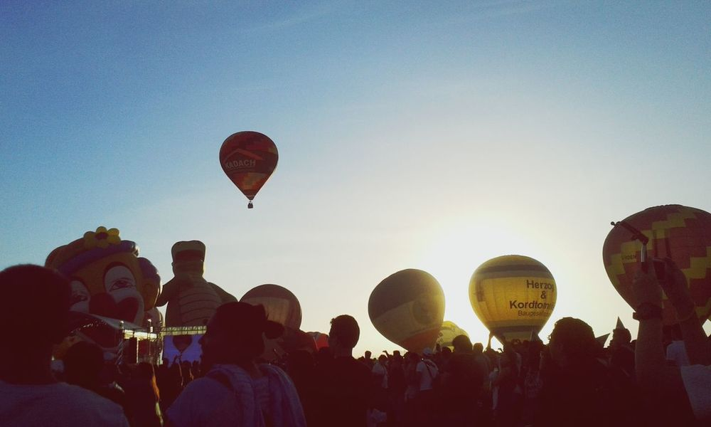 Balloonfestph Hot Air Balloons Sunrise Early Morning Clark,Pampanga Clark Air Base Happy Day Crowd Excited Long Goodbye