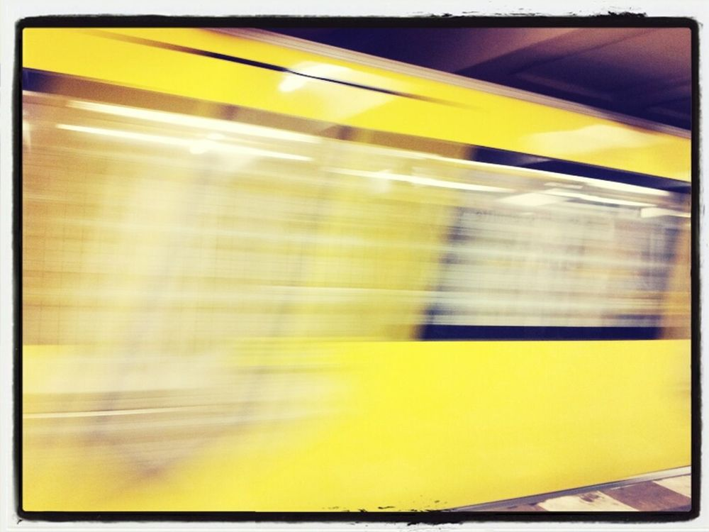 subway in Berlin by Andreas